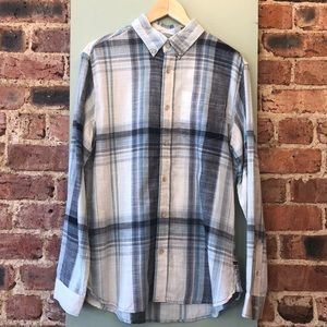 Surfside Supply Stripped Button Down Short Sleeve